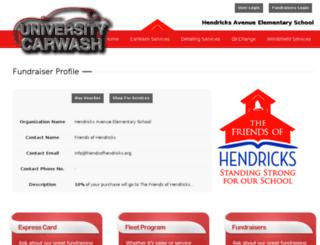 hendricks.universitycarwashjax.com screenshot