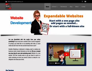 hendriksmarketing.com screenshot