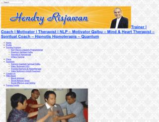 hendryrisjawan.com screenshot