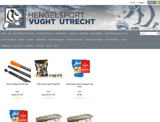 hengelsportvught.nl screenshot