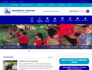 henhudschools.org screenshot