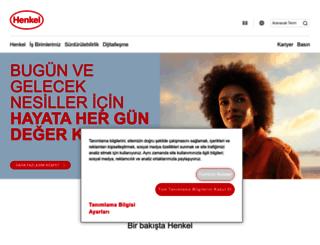 henkel.com.tr screenshot