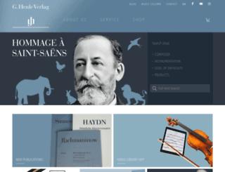 henleusa.com screenshot