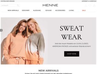 henne-fashion.com screenshot