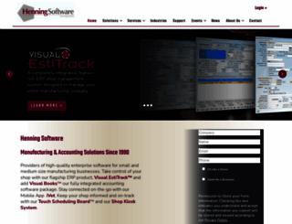henningsoftware.com screenshot