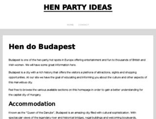 henpartyideas.net screenshot