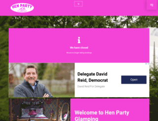 henpartyireland.com screenshot