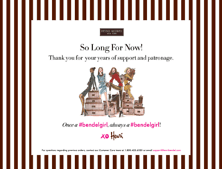 henribendel.com screenshot