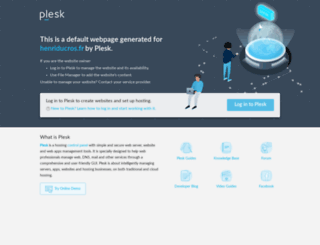 henriducros.fr screenshot