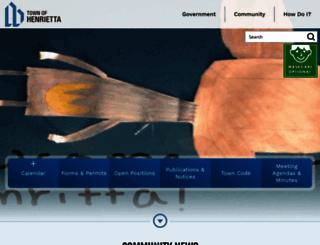 henrietta.org screenshot