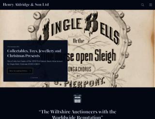 henry-aldridge.co.uk screenshot