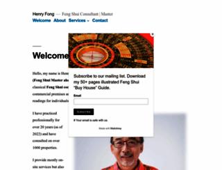 henryfong.com screenshot