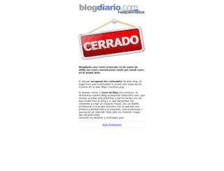 henryfrancis.blogdiario.com screenshot