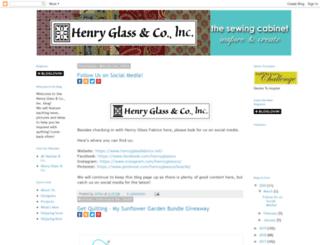 henryglassfabrics.blogspot.com screenshot