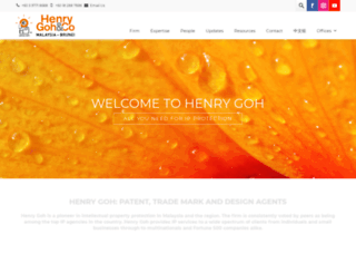 henrygoh.com screenshot