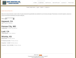henryind.acquiretm.com screenshot