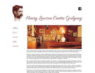 henrylawsongulgong.org.au screenshot