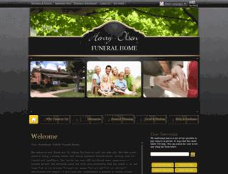 henryolsonfuneral.com screenshot