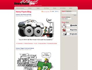 henrypayne.com screenshot