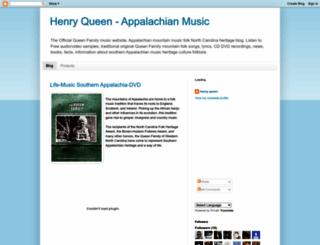 henryqueen.blogspot.com screenshot