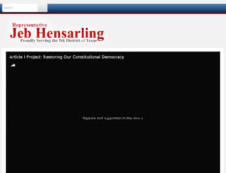 hensarling.house.gov screenshot