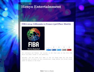 henyo-entertainment.blogspot.com screenshot