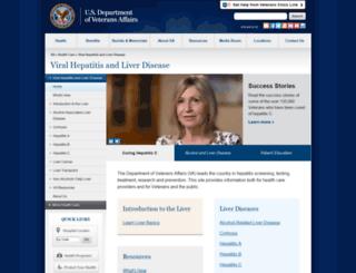 hepatitis.va.gov screenshot