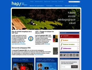 hepl.ch screenshot