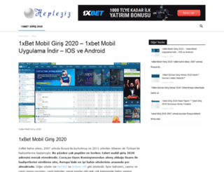 hepleziz.com screenshot