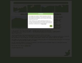 hepscottparishcouncil.org.uk screenshot