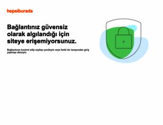 hepsiburada.com screenshot