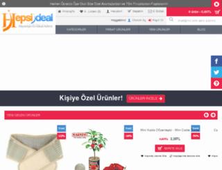 hepsiideal.com screenshot