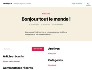 hera-bijoux.fr screenshot
