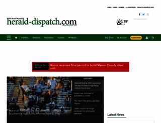 herald-dispatch.com screenshot