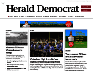 heralddemocrat.com screenshot