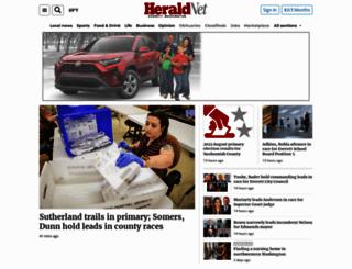 heraldnet.com screenshot