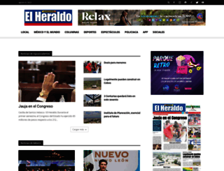 heraldo.mx screenshot