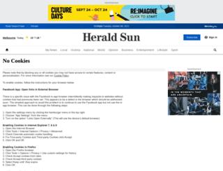 heraldsun.news.com.au screenshot