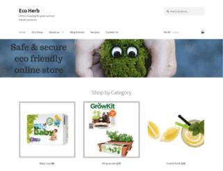 herb.co.za screenshot