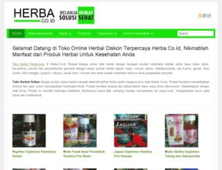 herba.co.id screenshot