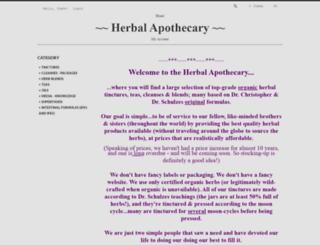 herbal-apothecary.net screenshot