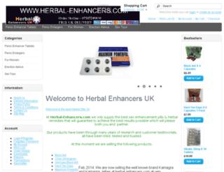 herbal-enhancers.com screenshot