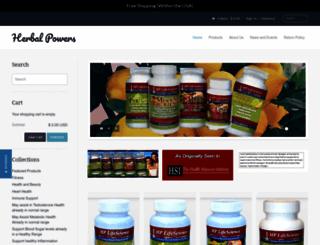 herbal-powers.com screenshot
