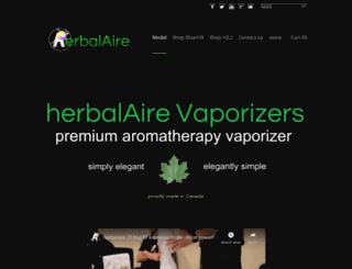herbalaire.com screenshot