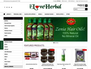 herbalbeautysupply.com screenshot