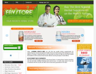 herbalhealthaids.com screenshot