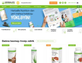 herbalife.az screenshot