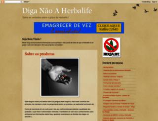 herbalifenao.blogspot.com.br screenshot