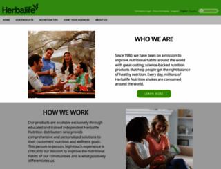 herbalifesports.com screenshot