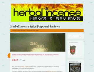 herbalincensespicereviews.wordpress.com screenshot